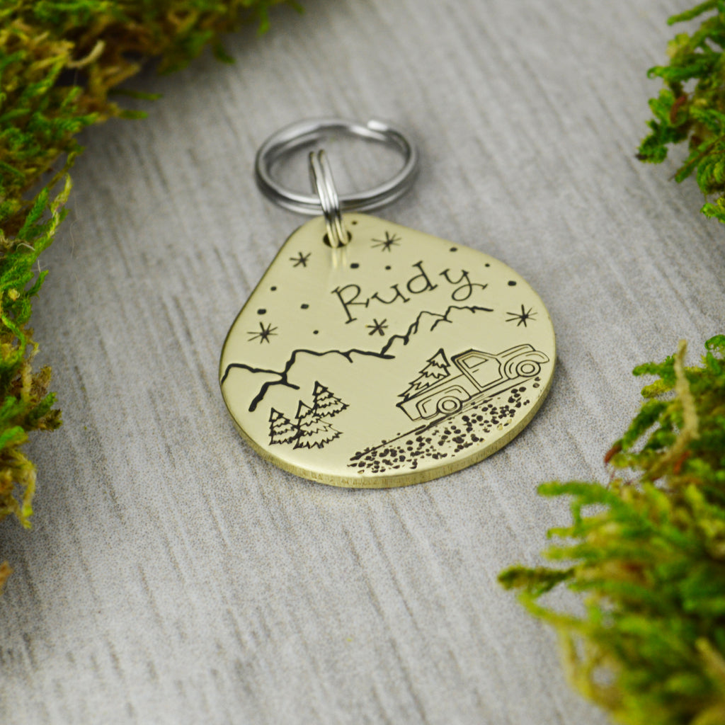 The Perfect Tree Pet ID Tag