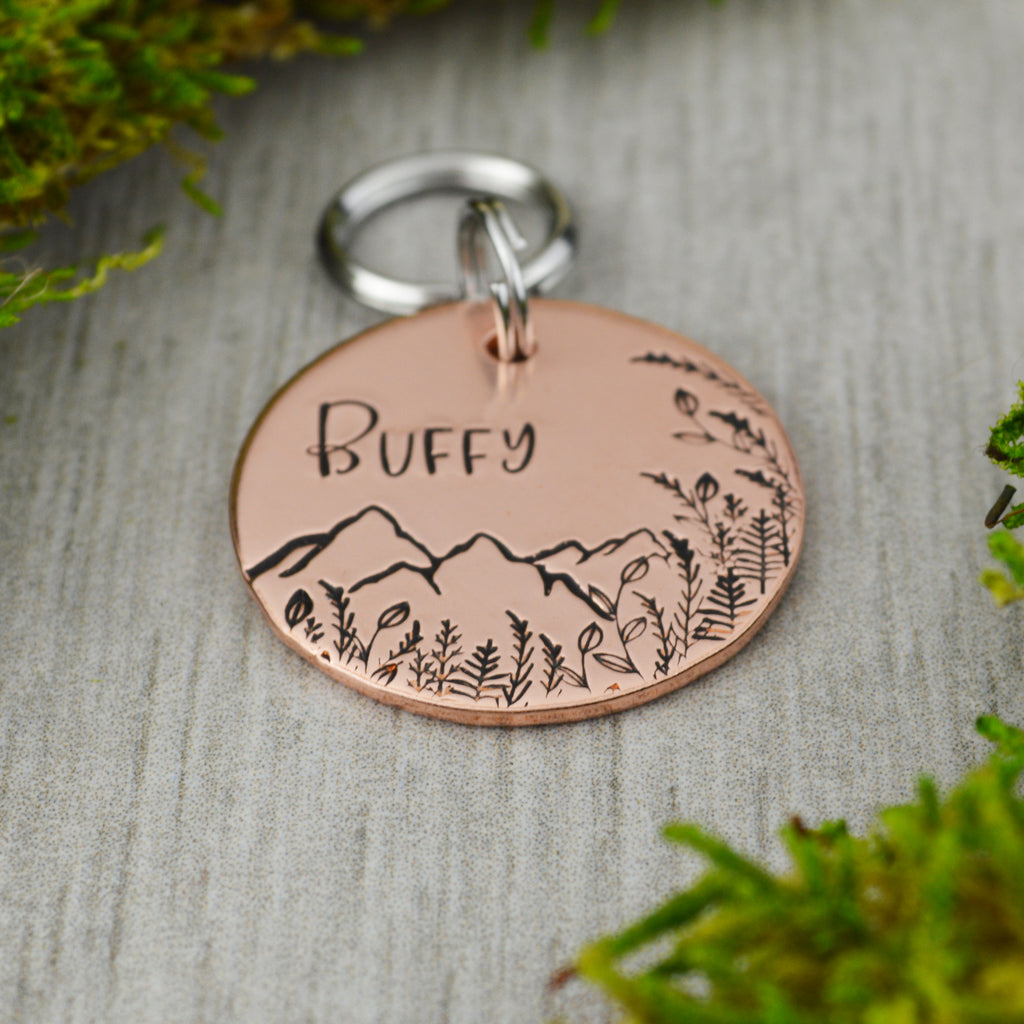 Peaks on the Horizon Pet ID Tag