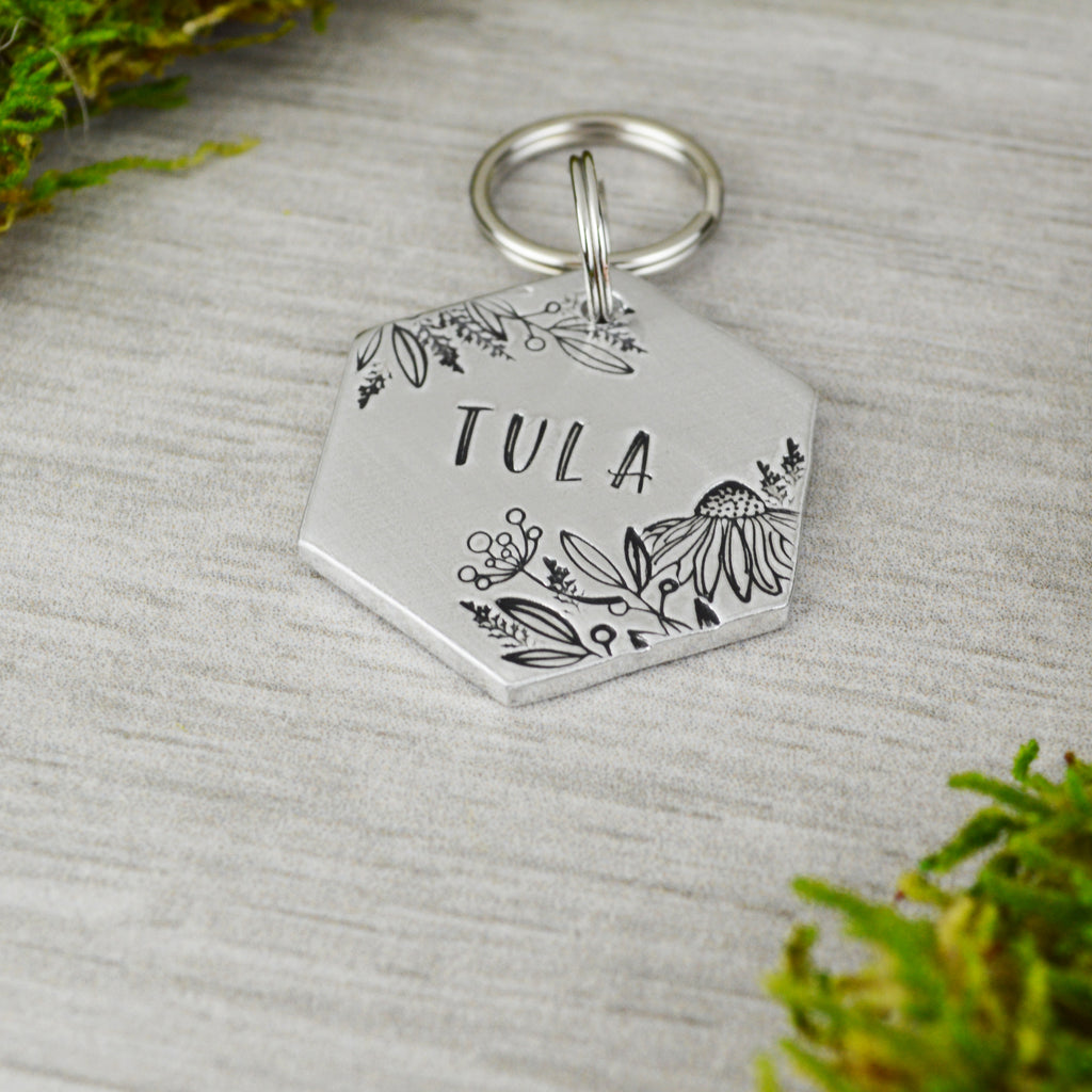 Botanical Garden Pet ID Tag