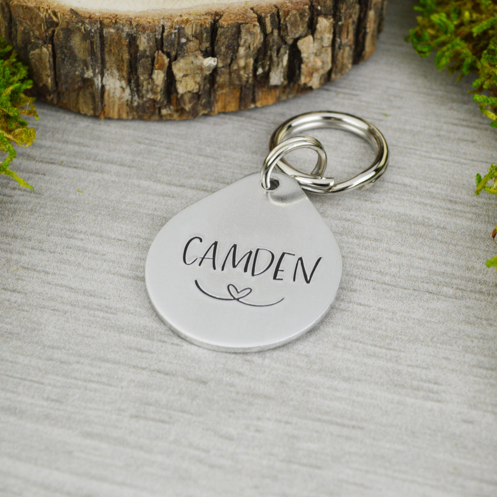 Happy Pup Pet ID Tag