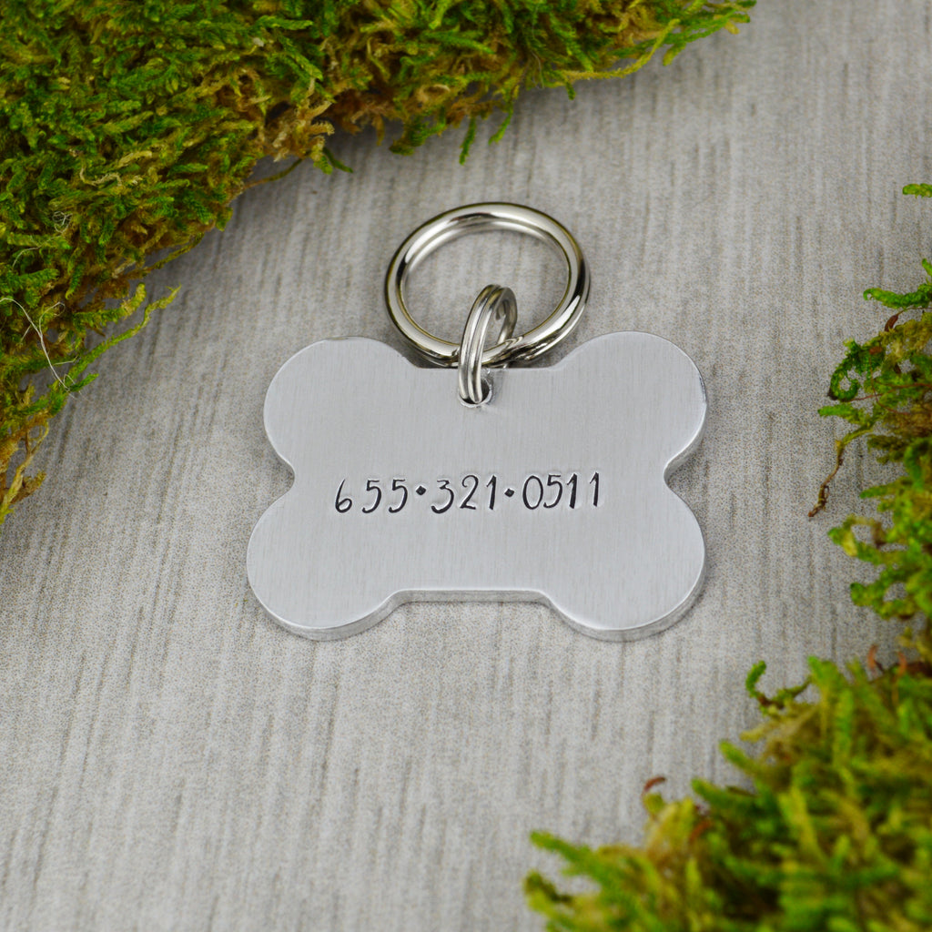 Pup In The Forest Pet ID Tag