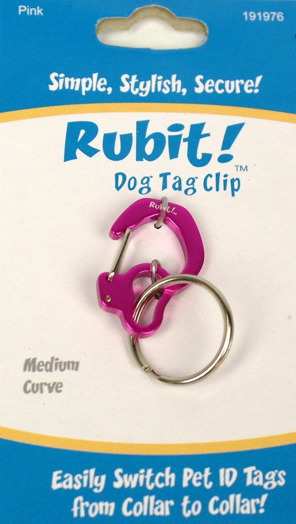 Rubit!™ Curve Dog Tag Clip