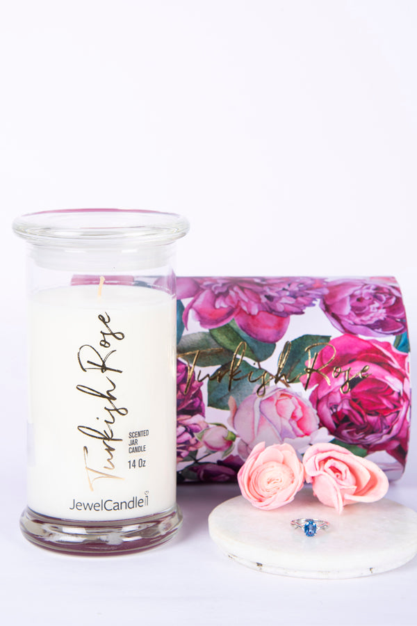Turkish Rose Scented Candle