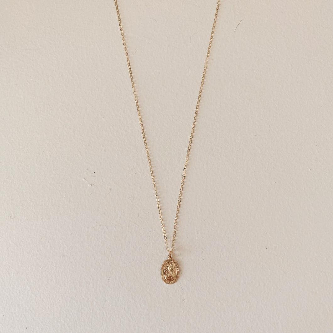 The Saint Christopher Necklace