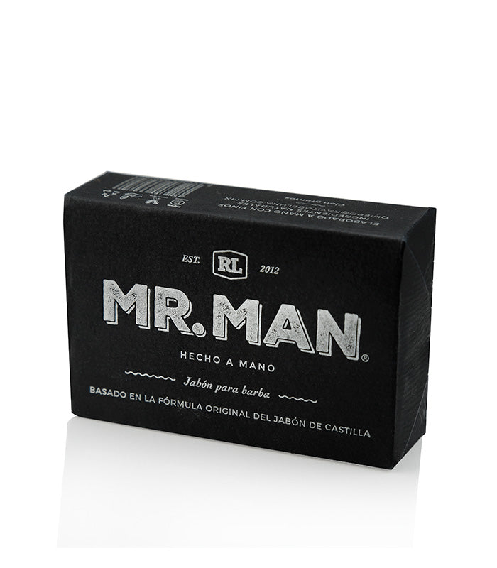 Mr. Man - Jabón de barba rasurado 100 g