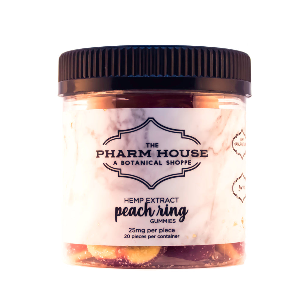 The Pharm House CBD Peach Rings
