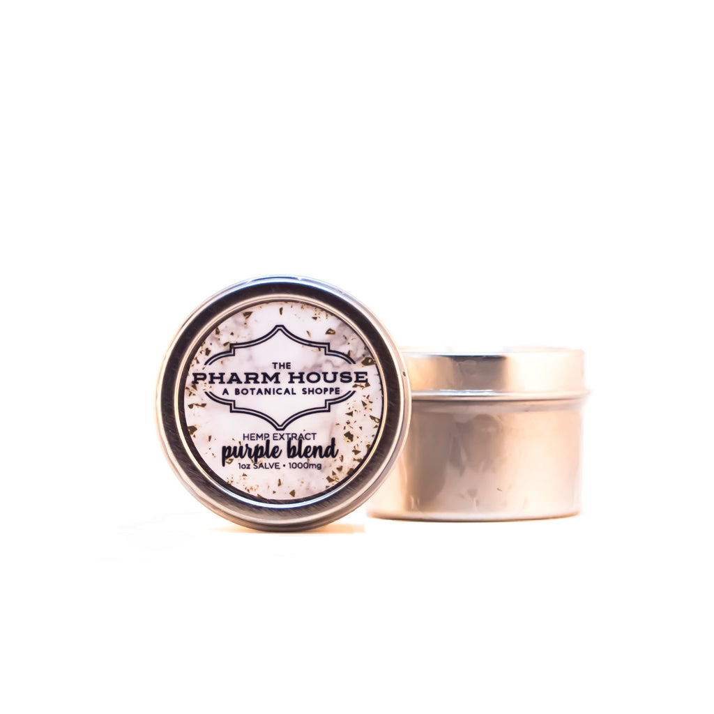 The Pharm House CBD Salve- 1000mg Purple Blend
