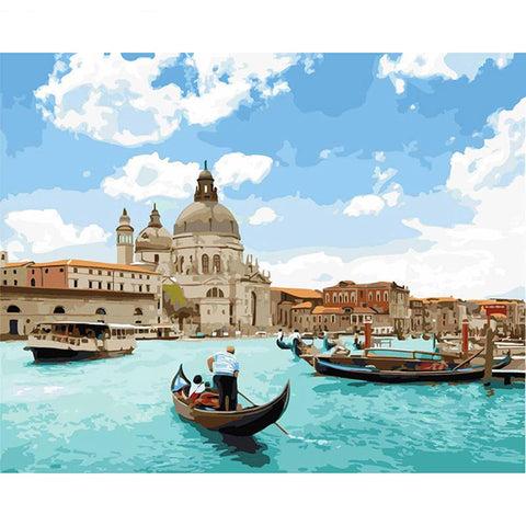 Venice On A Beautiful Day 40cm x 50cm