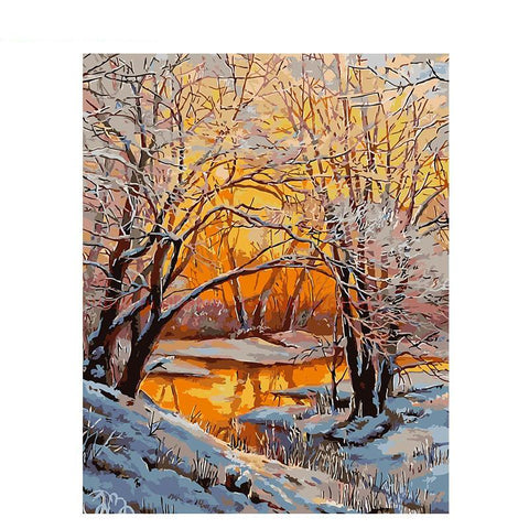 Winter Snow 40cm x 50cm