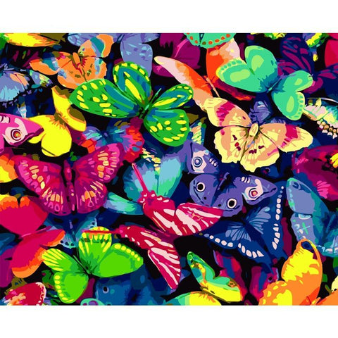 Beautiful Bright Butterflies 40cm x 50cm