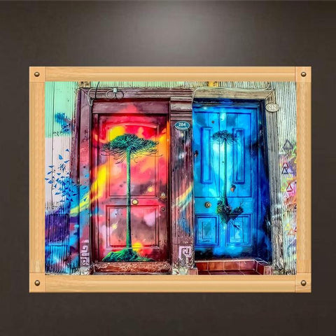 Modern Art Doorways 40cm x 50cm