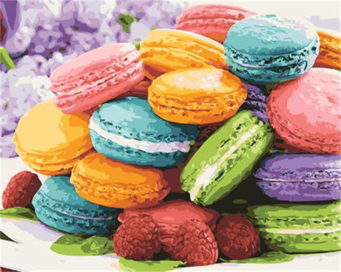 Colourful Cookies 40cm x 50cm