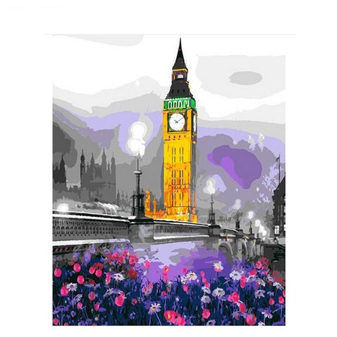 Romantic Big Ben 40cm x 50cm