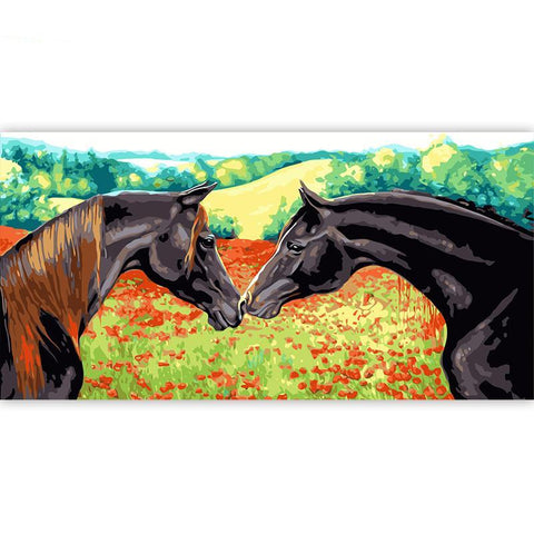 Horses In Love - Various Sizes Available