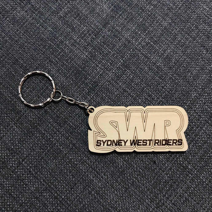 Keyring (Bold Logo Style) with Custom Engraving - Wilson-Made