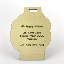 Load image into Gallery viewer, Luggage Tag (Sheep) with Custom Engraving - Wilson-Made