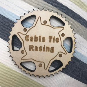 Coaster (Vortex Sprocket) with Custom Engraving (Pack of 4) - Wilson-Made