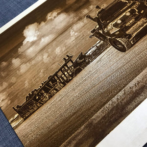 Wooden Photo Engraving (Road Trip) - Wilson-Made