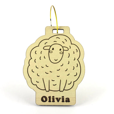 Luggage Tag (Sheep) with Custom Engraving