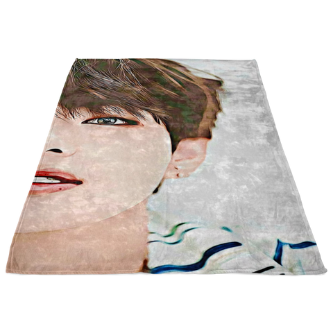Custom Kpop Fleece Blanket - iamkpopped