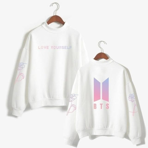 BTS Love Yourself Jimin Sweatshirts - iamkpopped
