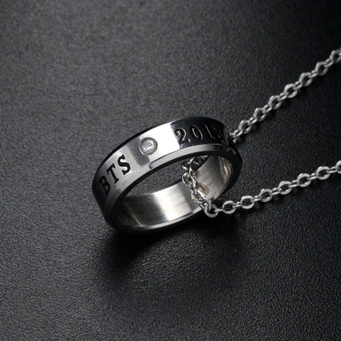 BTS Ring Necklace - iamkpopped