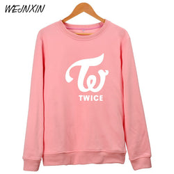 TWICE Hoodies Unisex Fans Fleece Pullovers - iamkpopped