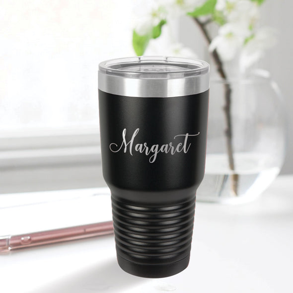custom engraved 30 oz. tumbler best sellers custom gift black with clear lid closing gift