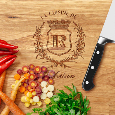 Personalized Custom Engraved Cutting Board Closing Gift