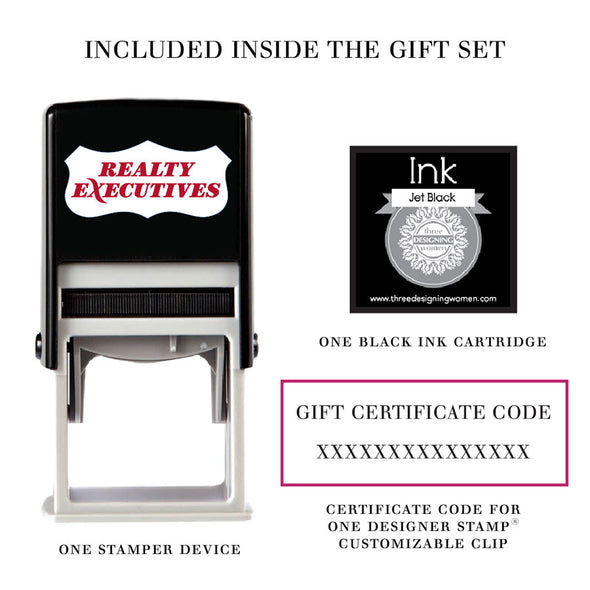 Designer Stamp Custom Gift Set Realty Executives Closing Gifts Best Sellers