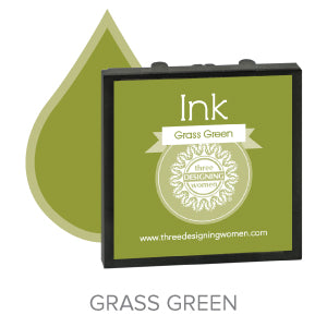 Grass Green Replaceable Stamper Ink Pad Good for Over 1000 Impressions