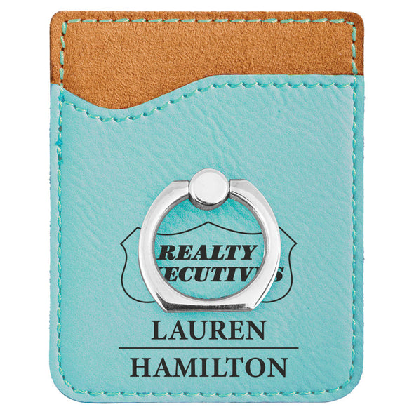 Engraved Branded Phone Wallet