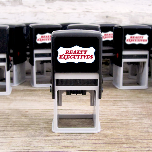 Realty Executive Branded Self-Inking Stamper Device Branded for Success