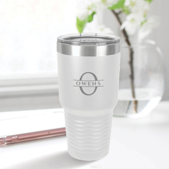 custom engraved 30 oz. tumbler best sellers custom gift white with clear lid closing gift