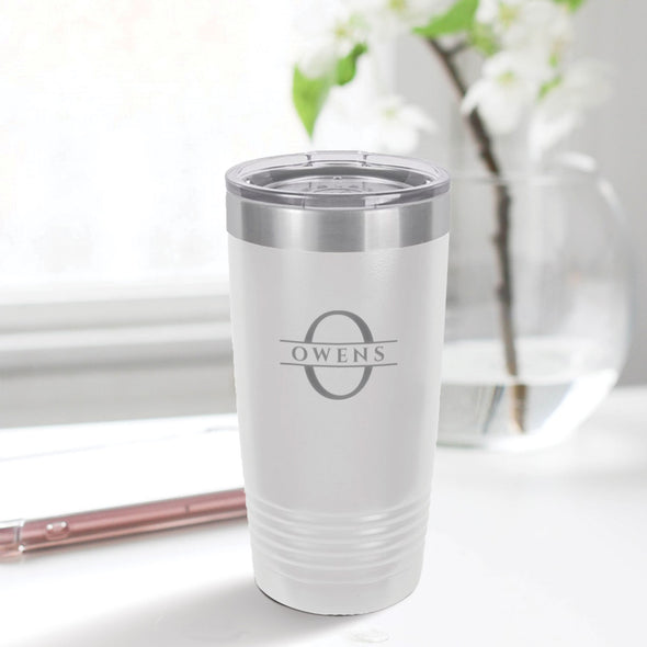 custom engraved 20 oz. tumbler best sellers custom gift white with clear lid closing gift