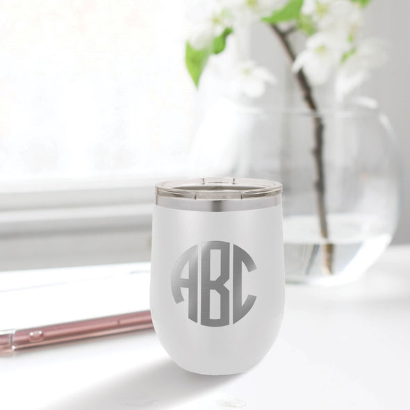 custom engraved 12 oz. tumbler best sellers custom gift white with clear lid closing gift