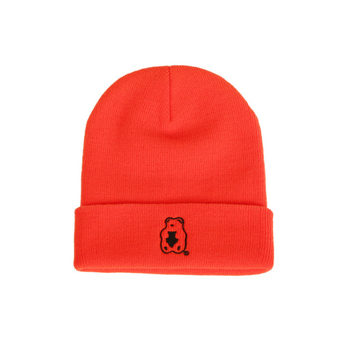 Grape Gummy Beanie_Vivid orange