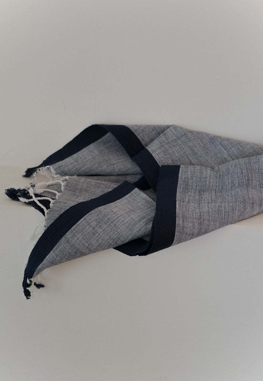 Chambray Hand Towel