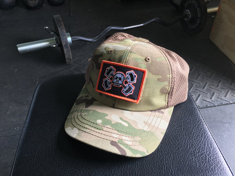 Chamber Camo Tactical Hat-Dusty Camo