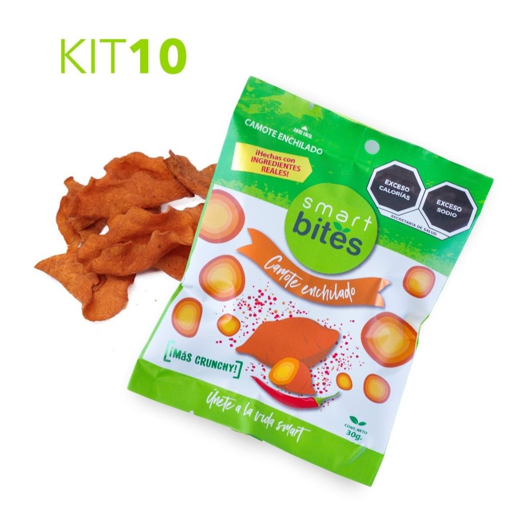 KIT 10 Camote Enchilado Smart Bites