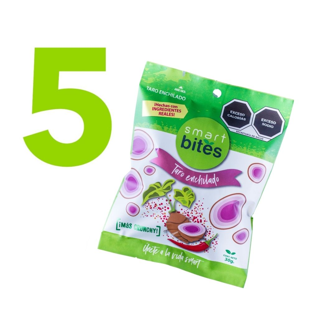 KIT 5 Taro Enchilado Smart Bites