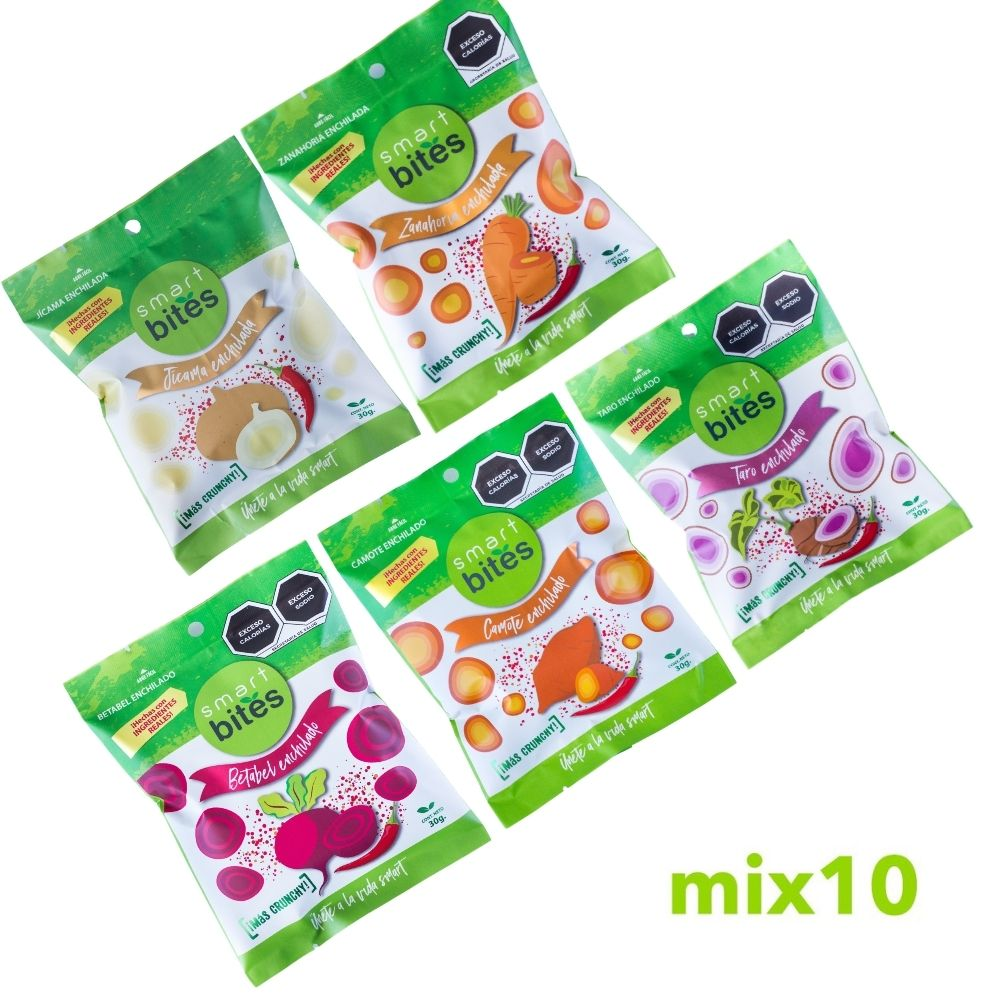 MIX 10: Surtido de Chips Smart Bites