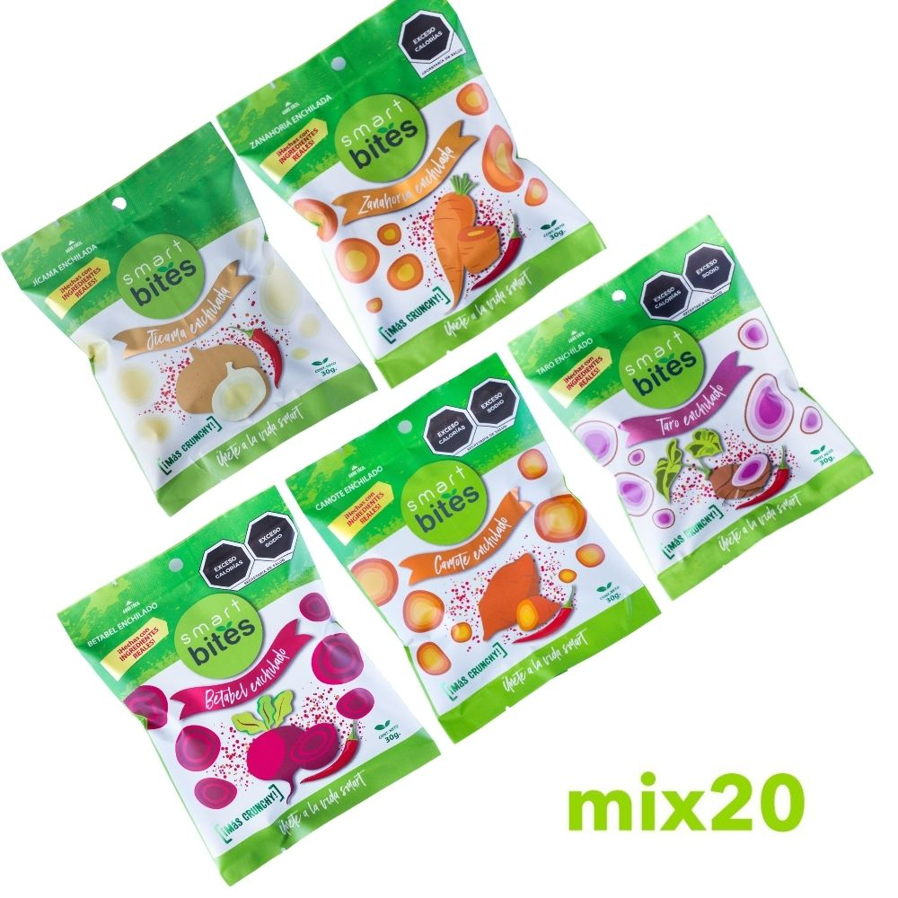 MIX 20: Surtido de Chips Smart Bites