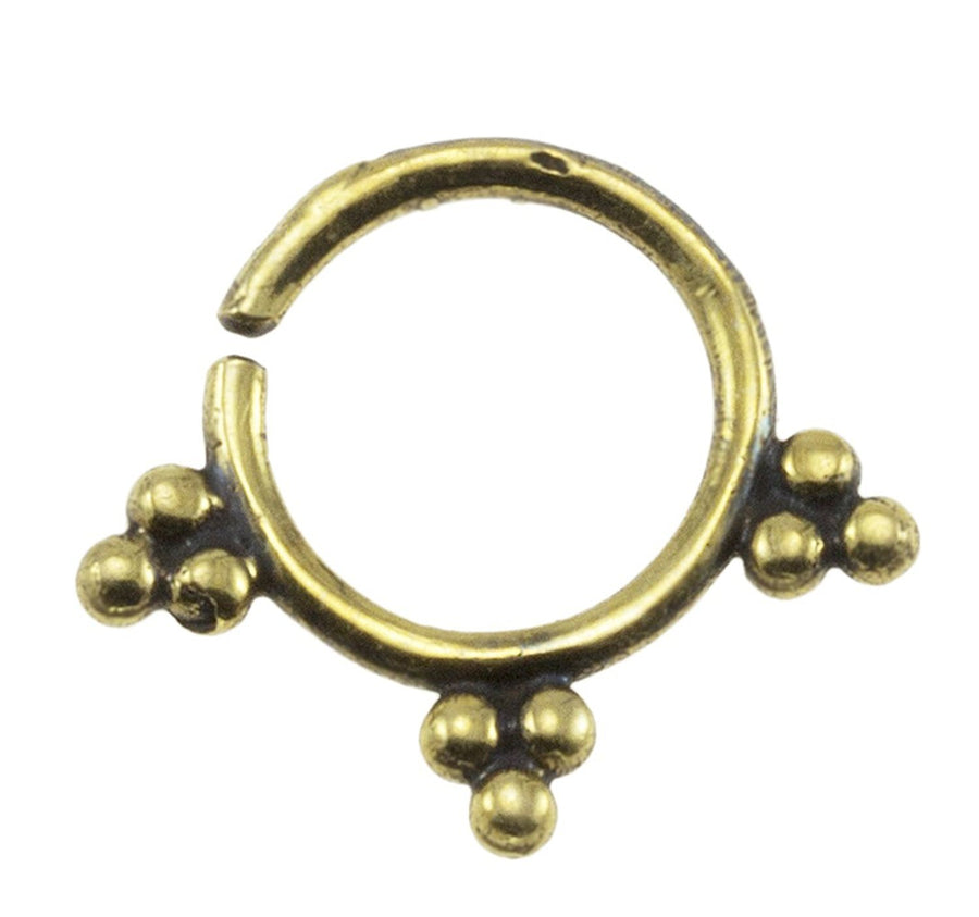 Indian Beads Septum Ring