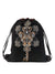 Om Key Graphic Print Daypack