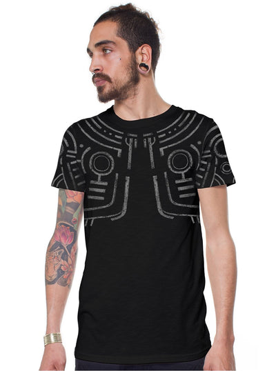 Plazmalab War Paint Aztec Tribal  T-Shirt