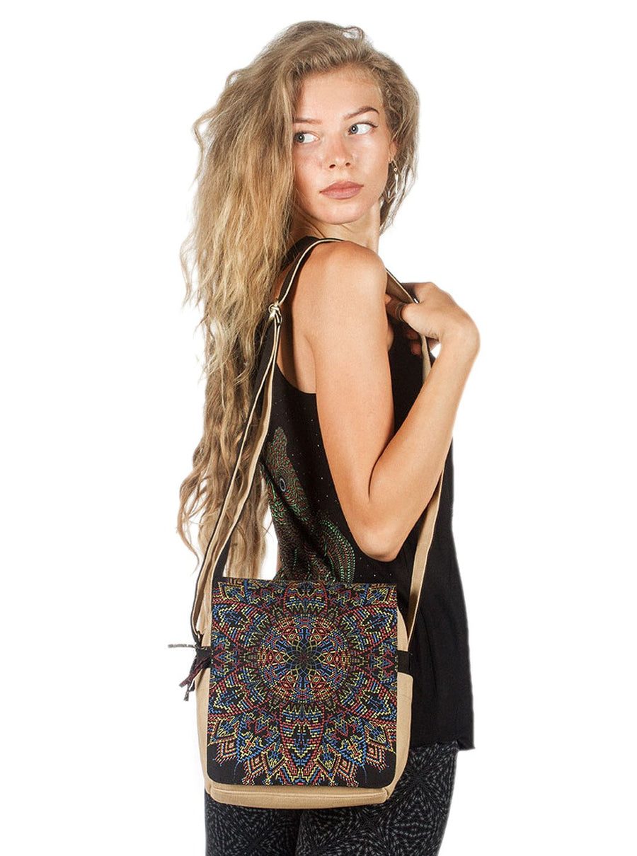 Mexica Mandala Crossbody Bag