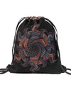 Vortex Graphic Print Daypack
