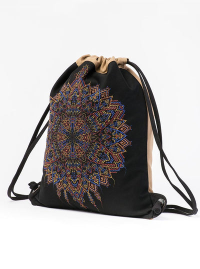 Mexica Graphic Print Daypack