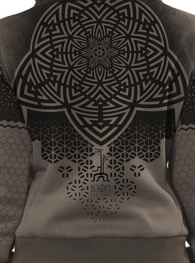 Plazmalab Abstract Sacred Geometry Hoodie